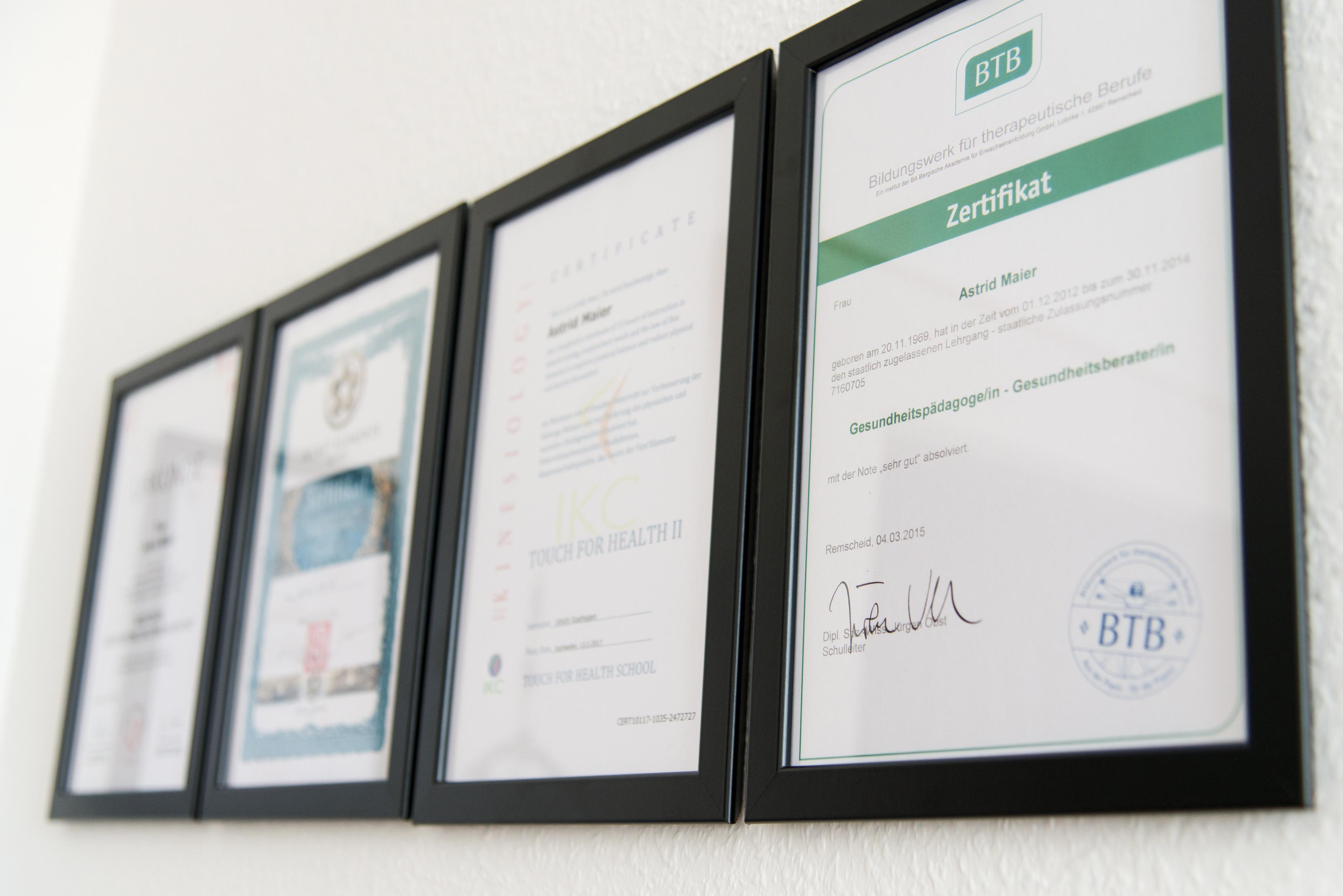 Qualifikationen- ein Ausschnitt