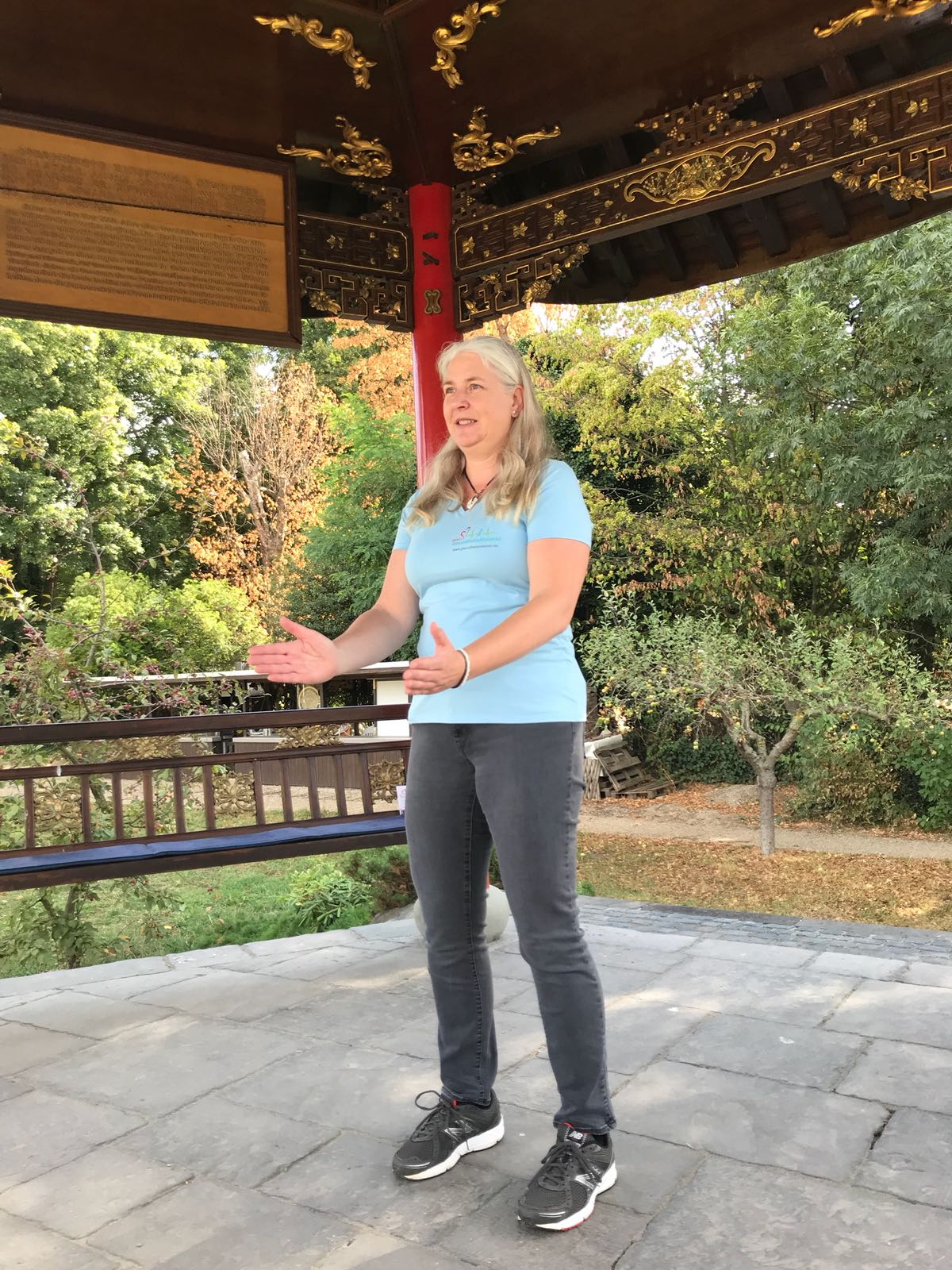 Qi Gong outside – Alte Stadtgärtnerei Düren