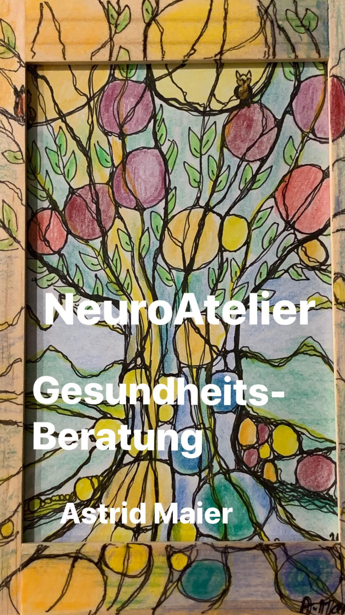ColorYourLife – Neurobaum – kreativ mit Stift und Papier